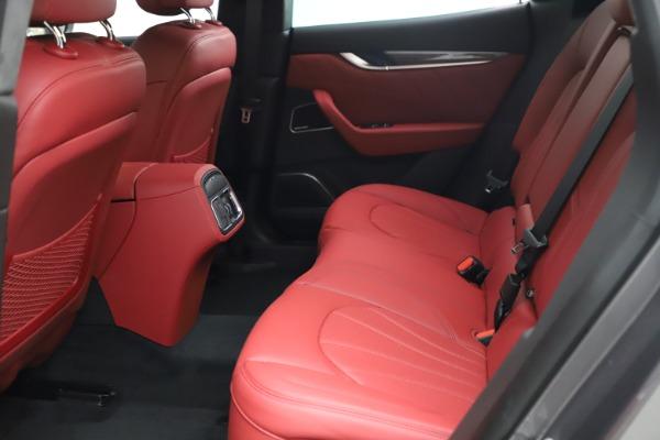 New 2021 Maserati Levante S Q4 GranLusso for sale $105,549 at Alfa Romeo of Greenwich in Greenwich CT 06830 18
