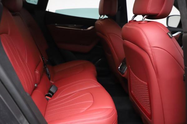 New 2021 Maserati Levante S Q4 GranLusso for sale $105,549 at Alfa Romeo of Greenwich in Greenwich CT 06830 22