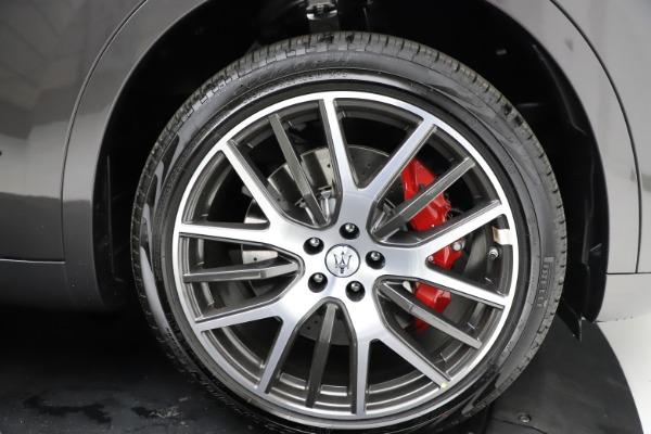 New 2021 Maserati Levante S Q4 GranLusso for sale $105,549 at Alfa Romeo of Greenwich in Greenwich CT 06830 26