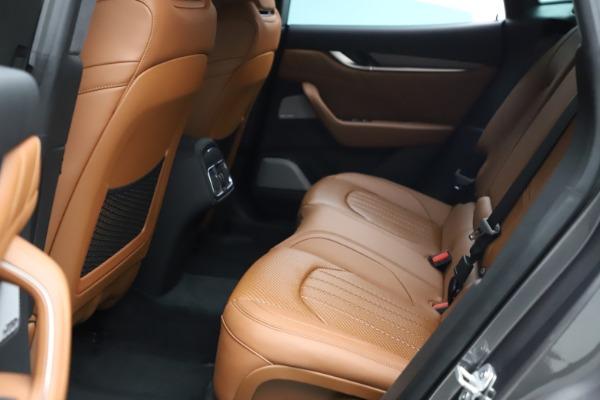 New 2021 Maserati Levante S Q4 GranSport for sale $114,485 at Alfa Romeo of Greenwich in Greenwich CT 06830 21