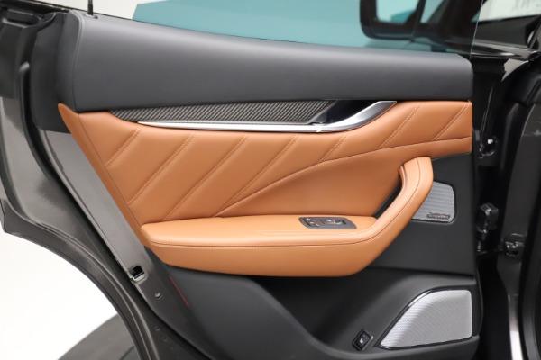 New 2021 Maserati Levante S Q4 GranSport for sale $114,485 at Alfa Romeo of Greenwich in Greenwich CT 06830 22