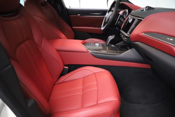 New 2021 Maserati Levante Q4 GranSport for sale $96,235 at Alfa Romeo of Greenwich in Greenwich CT 06830 21