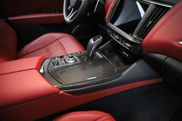 New 2021 Maserati Levante Q4 GranSport for sale $96,235 at Alfa Romeo of Greenwich in Greenwich CT 06830 24