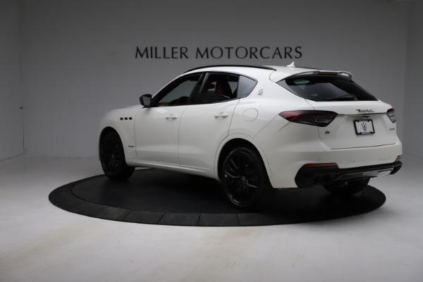 New 2021 Maserati Levante Q4 GranSport for sale $96,235 at Alfa Romeo of Greenwich in Greenwich CT 06830 4