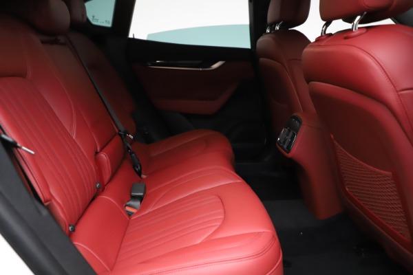 New 2021 Maserati Levante Q4 for sale Call for price at Alfa Romeo of Greenwich in Greenwich CT 06830 23