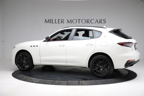 New 2021 Maserati Levante Q4 for sale Call for price at Alfa Romeo of Greenwich in Greenwich CT 06830 3