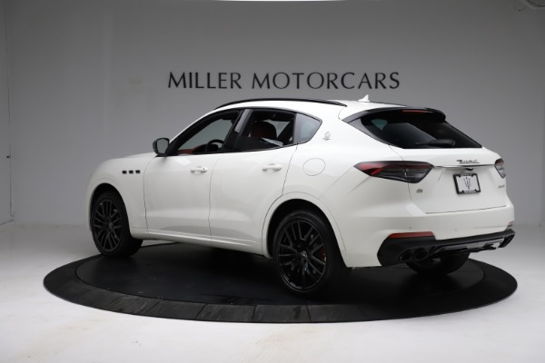 New 2021 Maserati Levante Q4 for sale Call for price at Alfa Romeo of Greenwich in Greenwich CT 06830 4