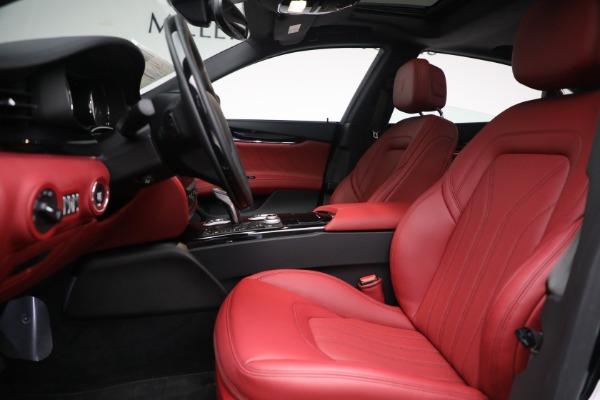 New 2021 Maserati Quattroporte S Q4 for sale $119,589 at Alfa Romeo of Greenwich in Greenwich CT 06830 19