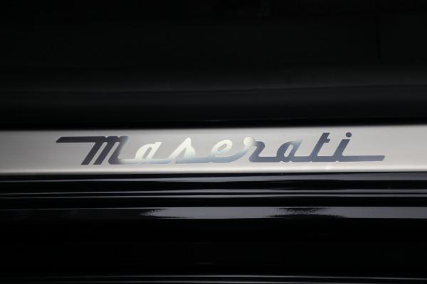 New 2021 Maserati Quattroporte S Q4 for sale $119,589 at Alfa Romeo of Greenwich in Greenwich CT 06830 22