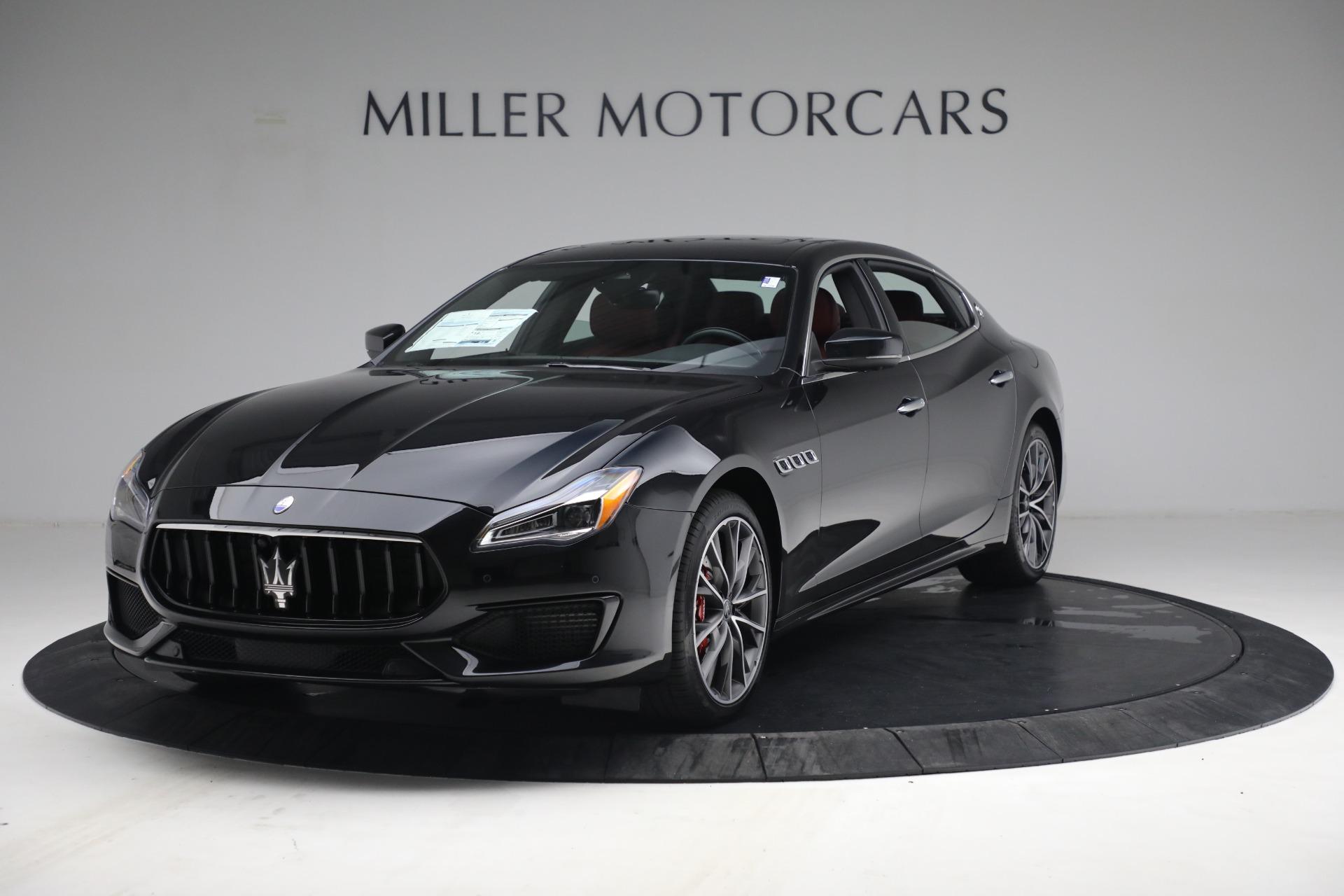 New 2021 Maserati Quattroporte S Q4 for sale $119,589 at Alfa Romeo of Greenwich in Greenwich CT 06830 1