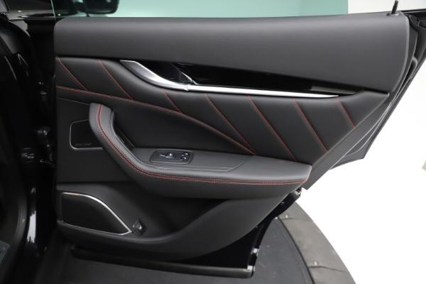 New 2021 Maserati Levante Q4 GranSport for sale $92,735 at Alfa Romeo of Greenwich in Greenwich CT 06830 25