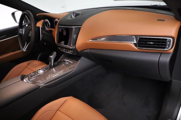 New 2021 Maserati Levante Q4 GranSport for sale $91,385 at Alfa Romeo of Greenwich in Greenwich CT 06830 22