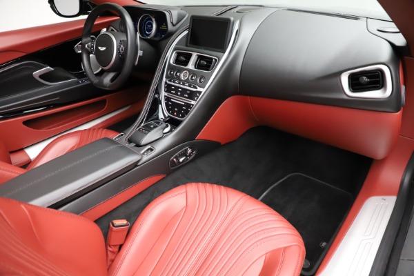 Used 2019 Aston Martin DB11 Volante for sale $211,990 at Alfa Romeo of Greenwich in Greenwich CT 06830 18