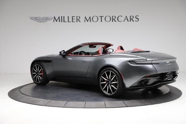 Used 2019 Aston Martin DB11 Volante for sale $211,990 at Alfa Romeo of Greenwich in Greenwich CT 06830 3