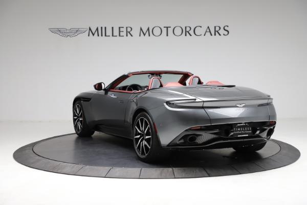 Used 2019 Aston Martin DB11 Volante for sale $211,990 at Alfa Romeo of Greenwich in Greenwich CT 06830 4