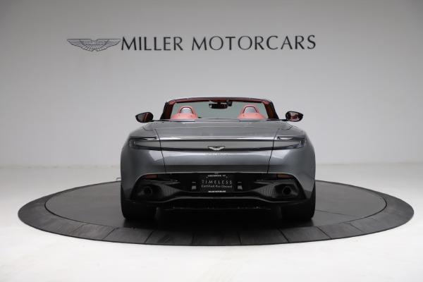 Used 2019 Aston Martin DB11 Volante for sale $211,990 at Alfa Romeo of Greenwich in Greenwich CT 06830 5