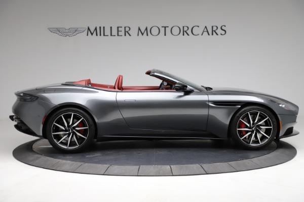 Used 2019 Aston Martin DB11 Volante for sale $211,990 at Alfa Romeo of Greenwich in Greenwich CT 06830 8