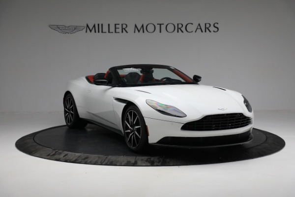 Used 2019 Aston Martin DB11 Volante for sale $209,990 at Alfa Romeo of Greenwich in Greenwich CT 06830 10
