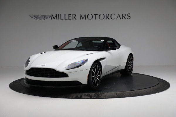 Used 2019 Aston Martin DB11 Volante for sale $209,990 at Alfa Romeo of Greenwich in Greenwich CT 06830 13