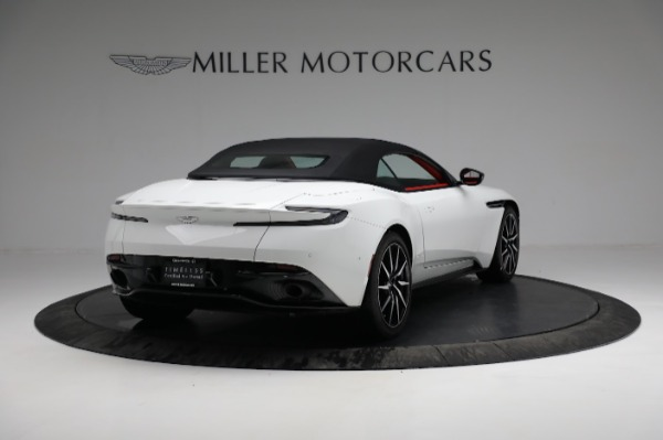 Used 2019 Aston Martin DB11 Volante for sale $209,990 at Alfa Romeo of Greenwich in Greenwich CT 06830 16