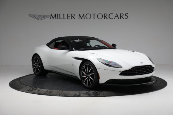 Used 2019 Aston Martin DB11 Volante for sale $209,990 at Alfa Romeo of Greenwich in Greenwich CT 06830 18