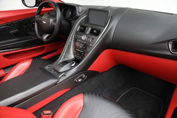 Used 2019 Aston Martin DB11 Volante for sale $209,990 at Alfa Romeo of Greenwich in Greenwich CT 06830 24