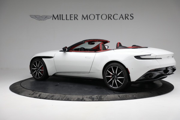 Used 2019 Aston Martin DB11 Volante for sale $209,990 at Alfa Romeo of Greenwich in Greenwich CT 06830 3