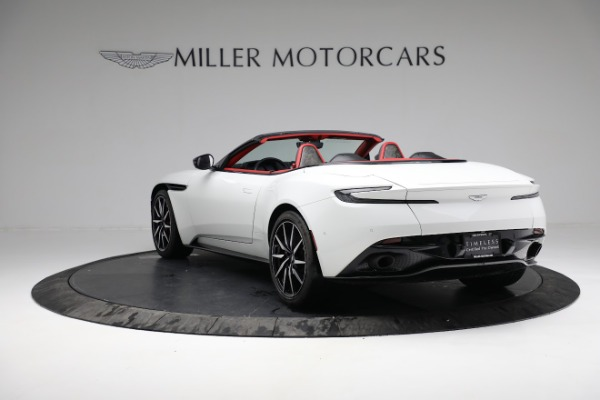Used 2019 Aston Martin DB11 Volante for sale $209,990 at Alfa Romeo of Greenwich in Greenwich CT 06830 4