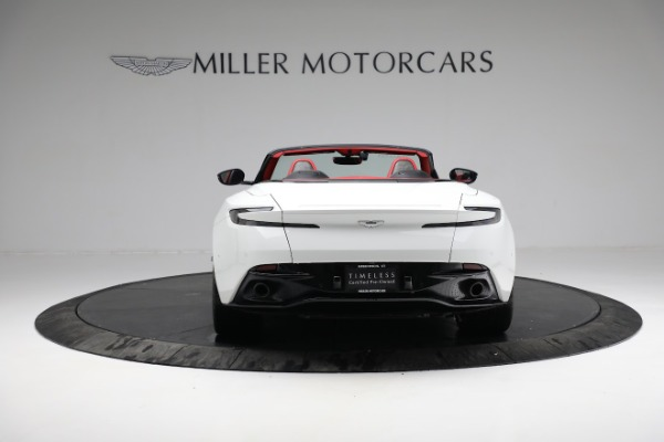 Used 2019 Aston Martin DB11 Volante for sale $209,990 at Alfa Romeo of Greenwich in Greenwich CT 06830 5