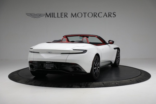 Used 2019 Aston Martin DB11 Volante for sale $209,990 at Alfa Romeo of Greenwich in Greenwich CT 06830 6