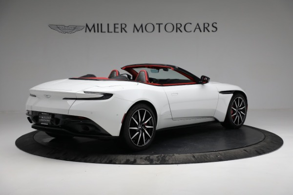 Used 2019 Aston Martin DB11 Volante for sale $209,990 at Alfa Romeo of Greenwich in Greenwich CT 06830 7
