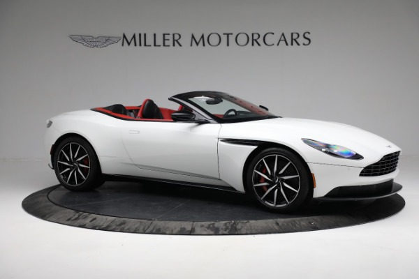 Used 2019 Aston Martin DB11 Volante for sale $209,990 at Alfa Romeo of Greenwich in Greenwich CT 06830 9