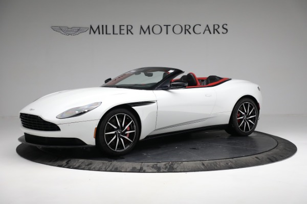 Used 2019 Aston Martin DB11 Volante for sale $209,990 at Alfa Romeo of Greenwich in Greenwich CT 06830 1