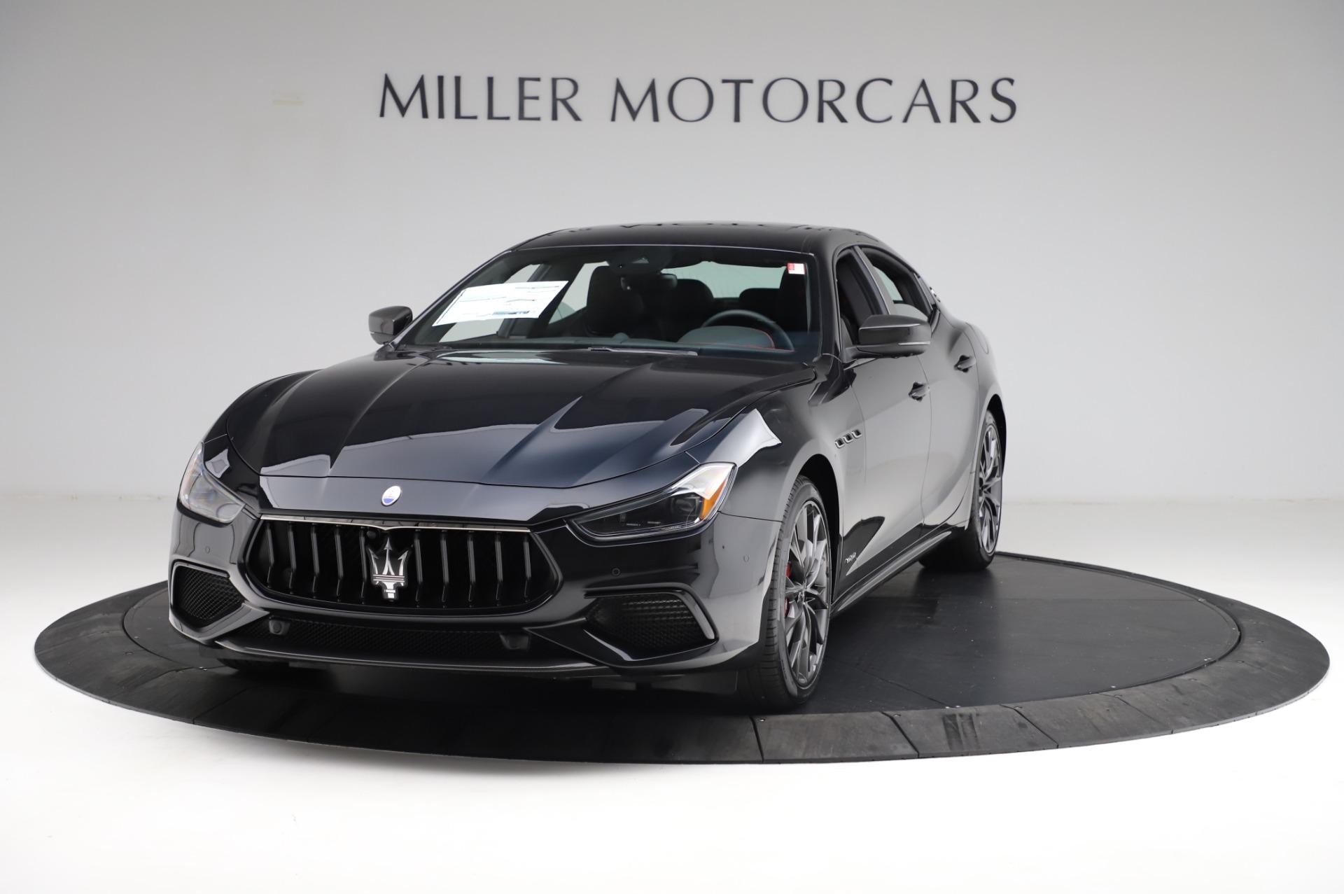 New 2021 Maserati Ghibli S Q4 GranSport for sale $100,635 at Alfa Romeo of Greenwich in Greenwich CT 06830 1