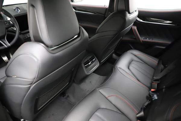 New 2021 Maserati Ghibli S Q4 GranSport for sale $100,635 at Alfa Romeo of Greenwich in Greenwich CT 06830 19