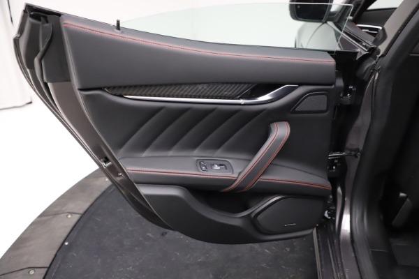 New 2021 Maserati Ghibli S Q4 GranSport for sale $100,635 at Alfa Romeo of Greenwich in Greenwich CT 06830 21