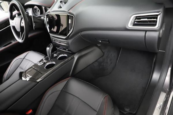 New 2021 Maserati Ghibli S Q4 GranSport for sale $100,635 at Alfa Romeo of Greenwich in Greenwich CT 06830 22