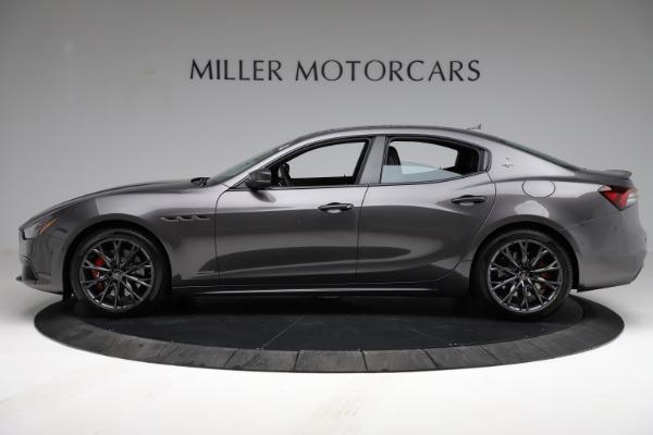 New 2021 Maserati Ghibli S Q4 GranSport for sale $100,635 at Alfa Romeo of Greenwich in Greenwich CT 06830 3