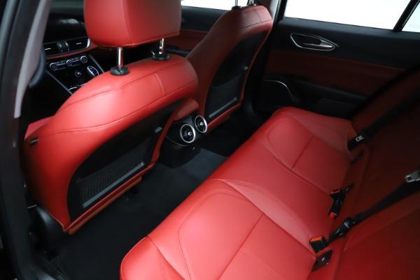 New 2021 Alfa Romeo Giulia Q4 for sale $48,535 at Alfa Romeo of Greenwich in Greenwich CT 06830 19