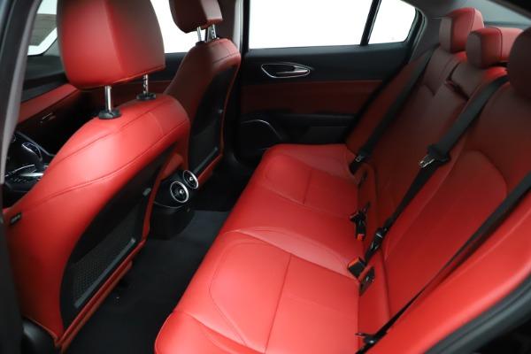New 2021 Alfa Romeo Giulia Q4 for sale $48,535 at Alfa Romeo of Greenwich in Greenwich CT 06830 20