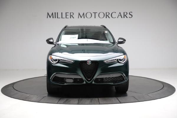 New 2021 Alfa Romeo Stelvio Ti Q4 for sale $53,650 at Alfa Romeo of Greenwich in Greenwich CT 06830 12