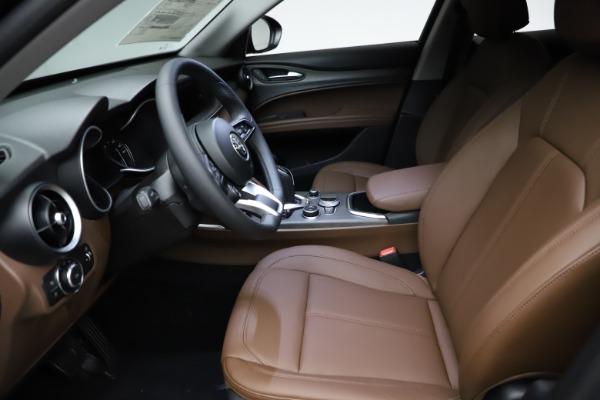 New 2021 Alfa Romeo Stelvio Ti Q4 for sale $53,650 at Alfa Romeo of Greenwich in Greenwich CT 06830 14