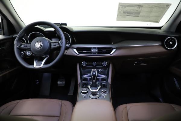 New 2021 Alfa Romeo Stelvio Ti Q4 for sale $53,650 at Alfa Romeo of Greenwich in Greenwich CT 06830 16