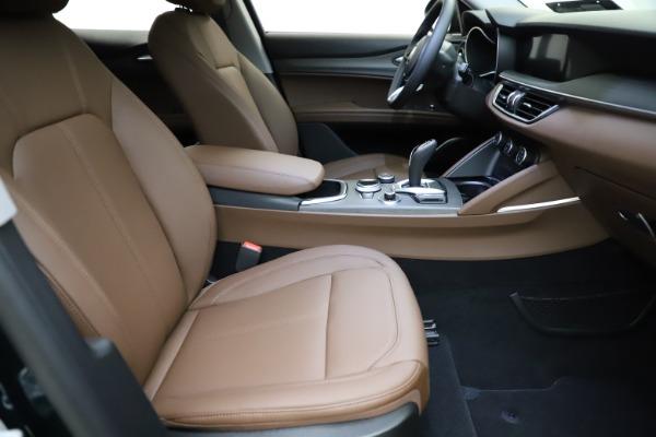 New 2021 Alfa Romeo Stelvio Ti Q4 for sale $53,650 at Alfa Romeo of Greenwich in Greenwich CT 06830 21