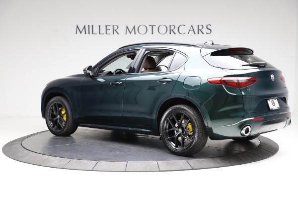 New 2021 Alfa Romeo Stelvio Ti Q4 for sale $53,650 at Alfa Romeo of Greenwich in Greenwich CT 06830 4