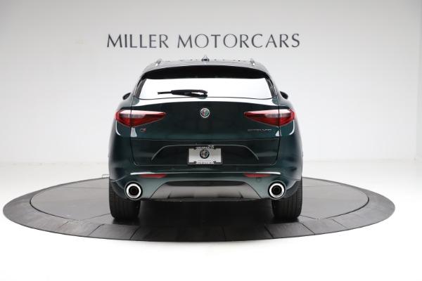 New 2021 Alfa Romeo Stelvio Ti Q4 for sale $53,650 at Alfa Romeo of Greenwich in Greenwich CT 06830 6