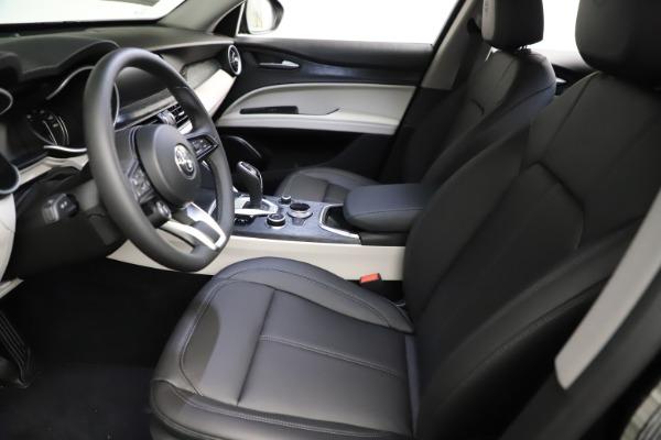 New 2021 Alfa Romeo Stelvio Q4 for sale $50,245 at Alfa Romeo of Greenwich in Greenwich CT 06830 14