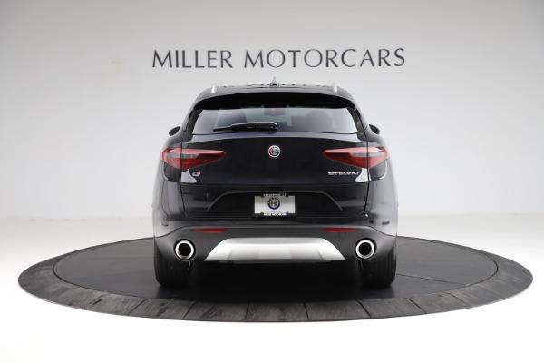 New 2021 Alfa Romeo Stelvio Q4 for sale $50,245 at Alfa Romeo of Greenwich in Greenwich CT 06830 6