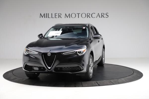 New 2021 Alfa Romeo Stelvio Q4 for sale $50,245 at Alfa Romeo of Greenwich in Greenwich CT 06830 1