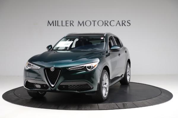 New 2021 Alfa Romeo Stelvio Ti Q4 for sale $53,500 at Alfa Romeo of Greenwich in Greenwich CT 06830 1